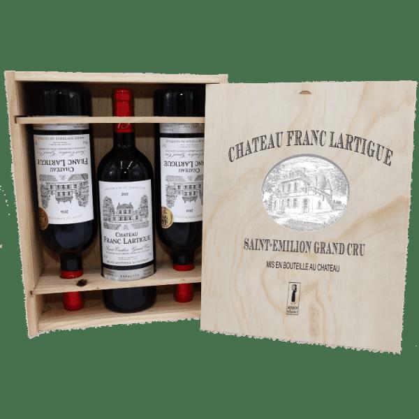 COFFRET EXCELLENCE – CHATEAU FRANC LARTIGUE